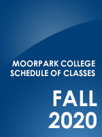 Fall Schedule of Classes