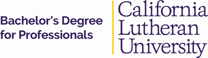 Cal Lutheran Bachelor's Degree for Professionals Logo