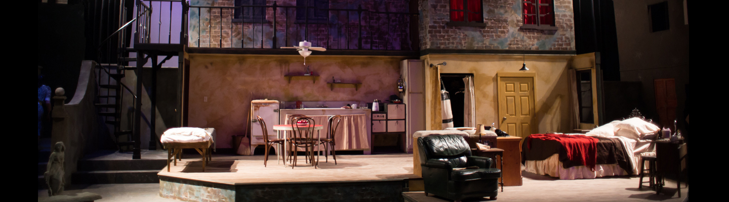 Set from A Streetcar Named Desire Fall 2018