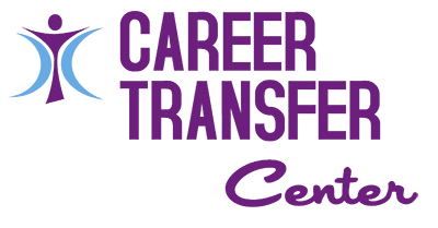 Purple and Blue Career Transfer Icon