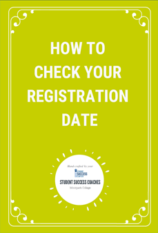 How to check your registration