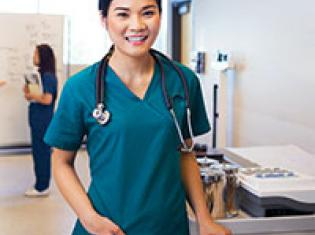 photo of Nursing student