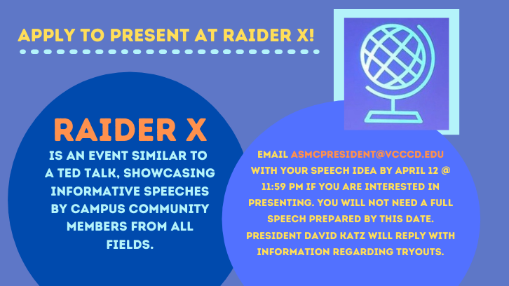 Apply to audition for RAIDERx!