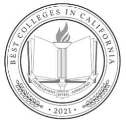 Best Colleges in California seal from Intelligent.com